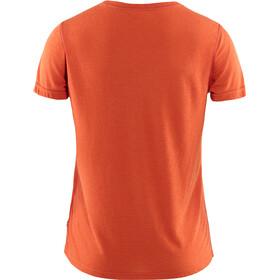 Fjällräven High Coast Lite Maglietta a maniche corte Donna, arancione